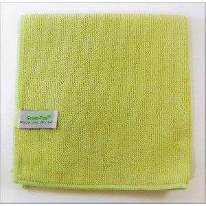 Mikropluošto šluostė Multipurpose Antibac, 380×380 mm, žalia, Green-Tex