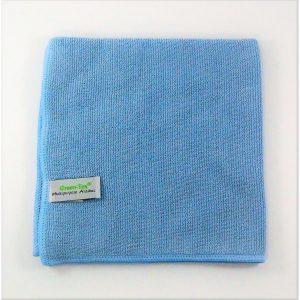 Mikropluošto šluostė Multipurpose Antibac, 380×380 mm, mėlyna, Green-Tex